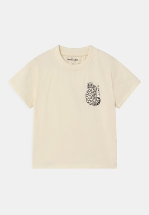 TIGER UNISEX - Print T-shirt - offwhite