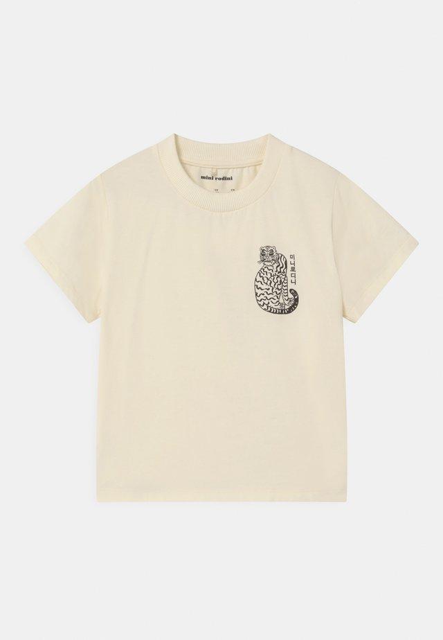 TIGER UNISEX - T-shirt imprimé - offwhite
