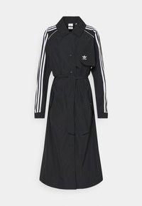 adidas Originals - TRENCH ORIGINALS ADICOLOR PRIMEGREEN COAT - Trenchcoat - black - 9