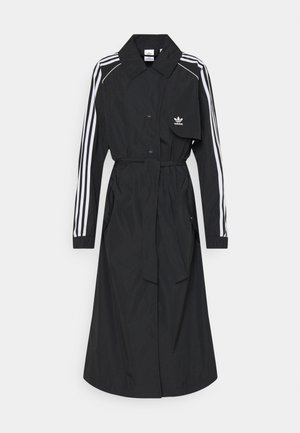 TRENCH ORIGINALS ADICOLOR PRIMEGREEN COAT - Trenchcoat - black