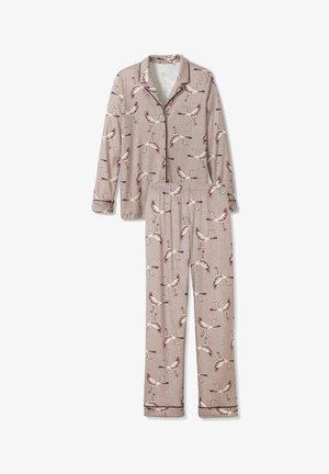 Pyjama set - etherea taupe