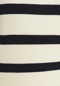 Moss Copenhagen - HARIKE - Jumper - egret stripe - 2