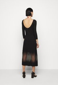 Patrizia Pepe - DRESS SEE THROUGH - Jumper dress - nero - 2