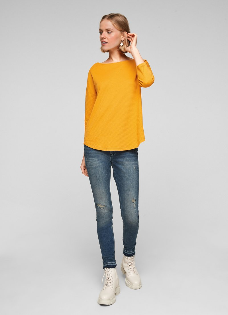 QS by s.Oliver - Long sleeved top - yellow