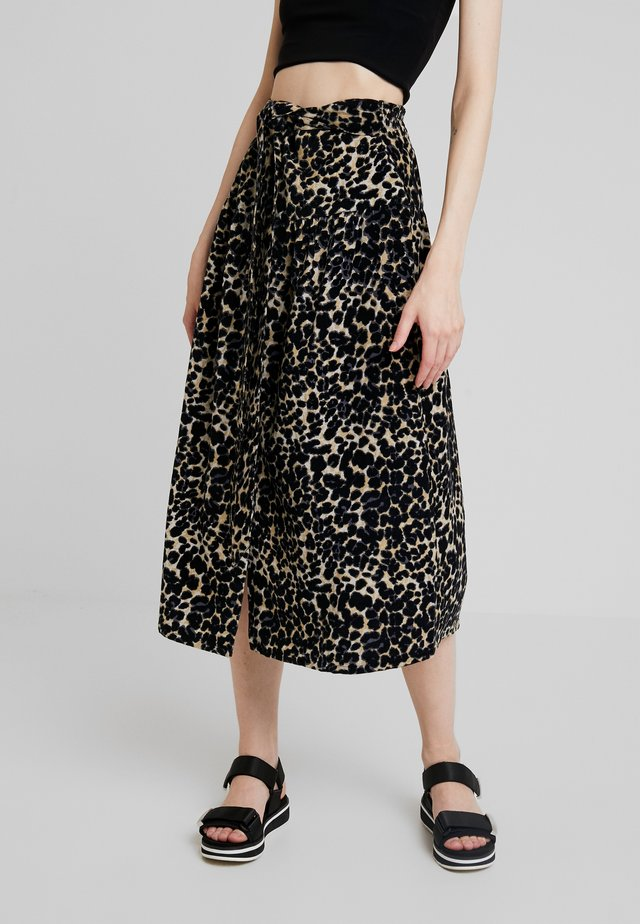 JASON LEO - Maxi skirt - black