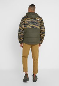The North Face - INSULATED FANORAK - Outdoorjas - british kaki tiger camoprint /new taupe green - 3