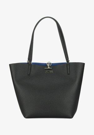 ALBY TOGGLE - Tote bag - black/blue