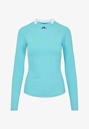 Long sleeved top - beach blue