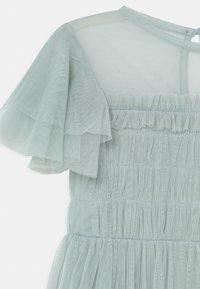 Anaya with love - GATHERED BODICE RUFFLE DRESS - Vestido de cóctel - pale blue - 2