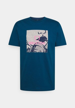 ALPHA SQUARE ART  - Print T-shirt - marine blue