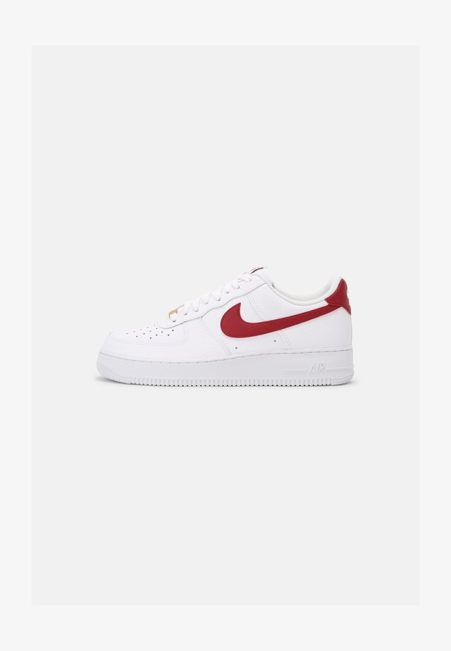 AIR FORCE 1 - Sneakers laag - white/team red