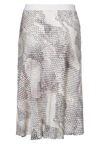 Marc Aurel - A-line skirt - light sand varied - 5