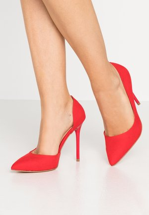 Klassiska pumps - red