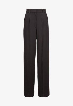 Trousers - bla black