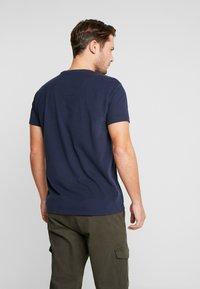 Petrol Industries - T-shirt z nadrukiem - deep navy - 2
