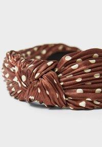 Stradivarius - Hair styling accessory - dark brown - 4