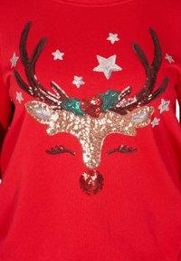 Zizzi - Sweatshirt - red - 3