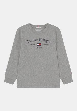 ARTWORK TEE UNISEX - Maglietta a manica lunga - light grey heather