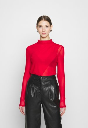 EXTRA LAYER - Long sleeved top - red
