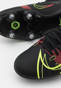 Nike Performance - MERCURIAL 8 ACADEMY SG-PRO AC - Screw-in stud football boots - black/cyber/off noir - 5