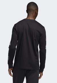 adidas Performance - LIL STRIPE CANNONBALL T-SHIRT - Long sleeved top - black - 1