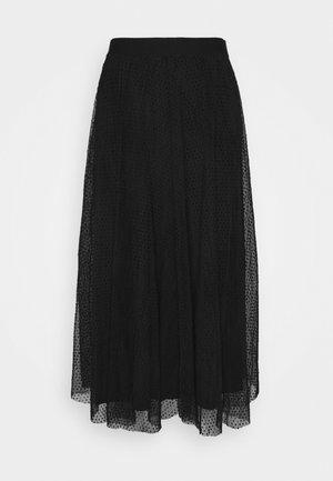 ONLETTA SKIRT  - A-line skirt - black