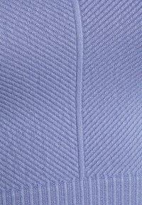 Cotton On Body - LIFESTYLE SEAMLESS HALTER TANK - Top - periwinkle chevron - 2