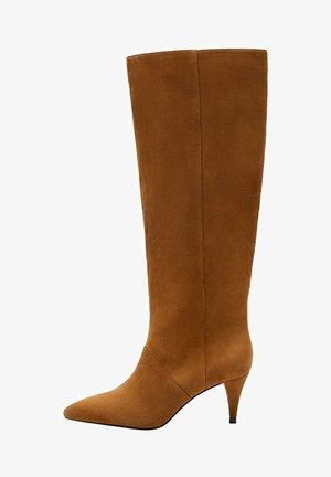RUBI - Boots - mittelbraun
