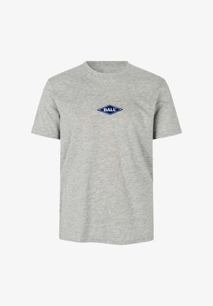 T-shirts med print - lg melange