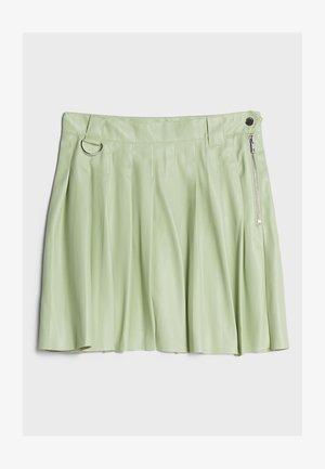 MIT KELLERFALTEN - Pliceret nederdel /Nederdele med folder - green