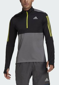 adidas Performance - OWN THE 1/2 RESPONSE PRIMEGREEN RUNNING PULLOVER SWEATSHIRT - Sweatshirt - grey - 3
