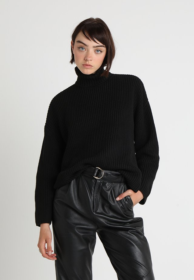 DOSA  - Strickpullover - black