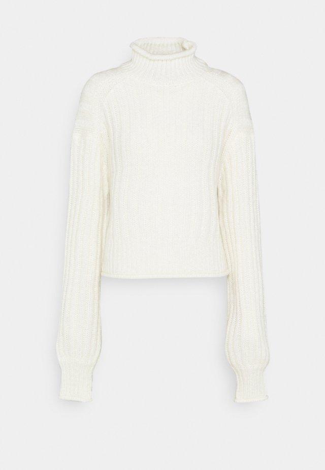 LOVELY CHUNKY  - Sweter - white