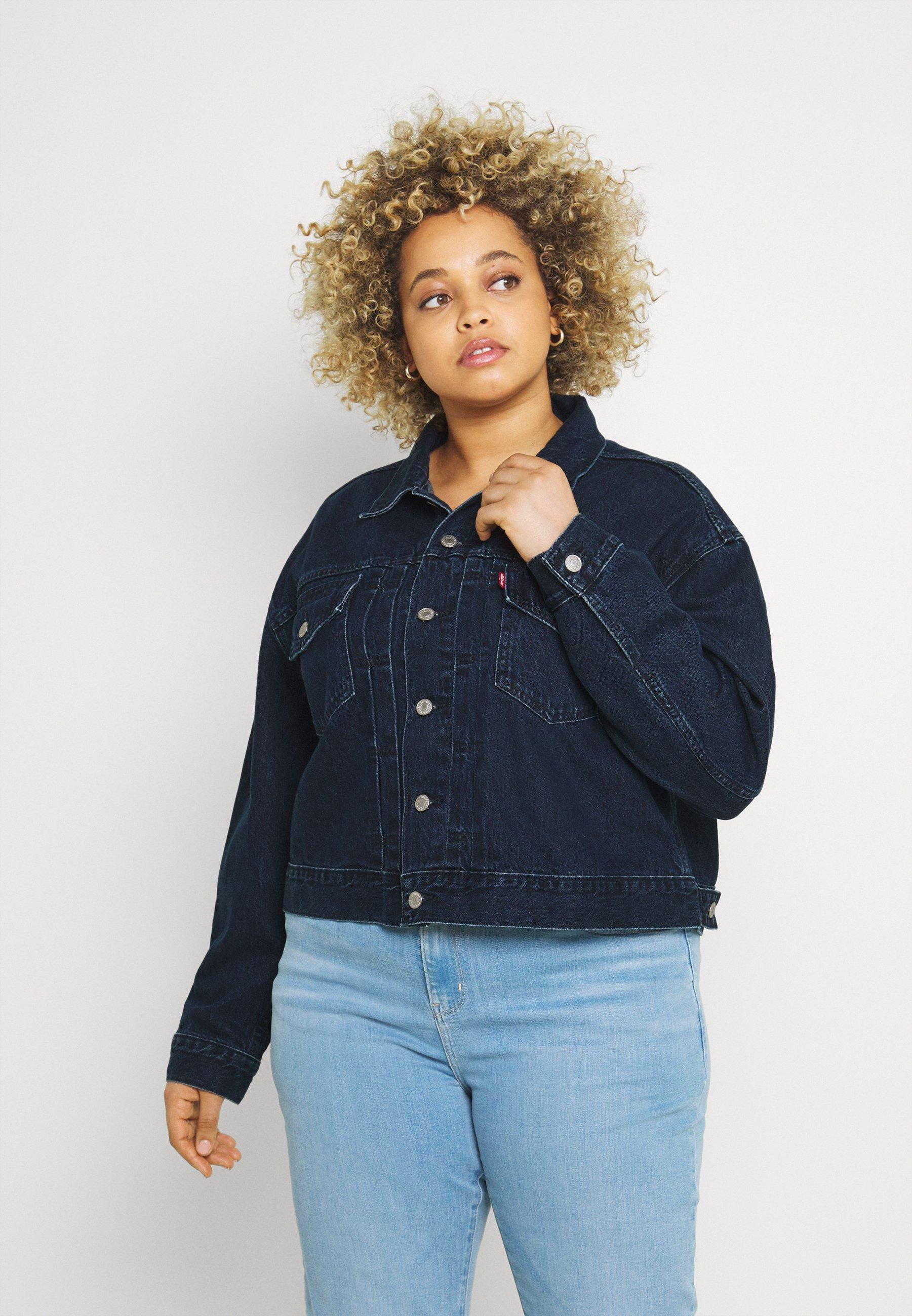 Women PL HERITAGE TRUCKER - Denim jacket