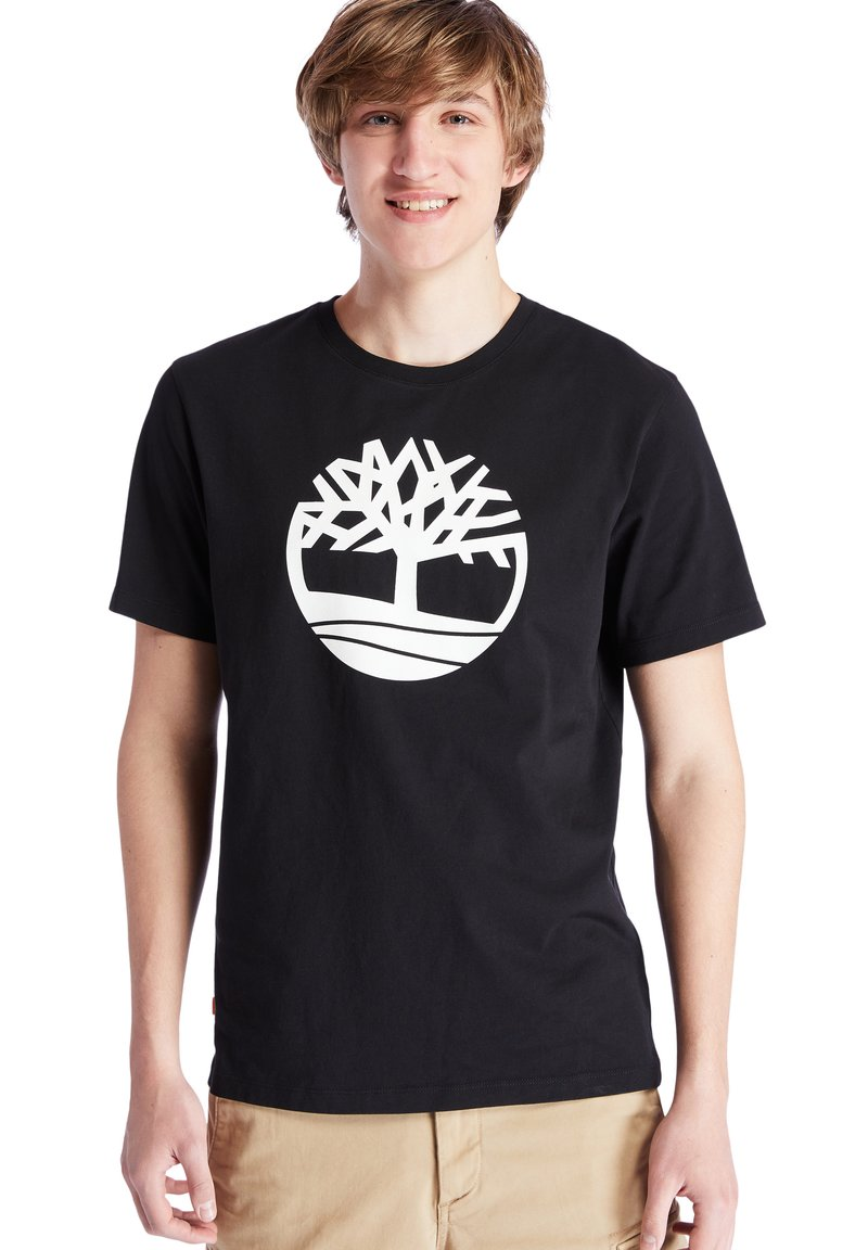 Timberland - Print T-shirt - black