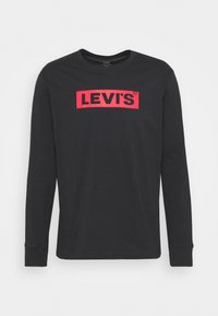 Levi's® - RELAXED GRAPHIC TEE - Long sleeved top - black - 4