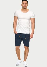 INDICODE JEANS - CARVER - Denim shorts - blue - 1