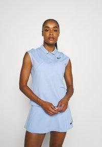 Nike Performance - VICTORY  - Sports shirt - aluminum/black - 0
