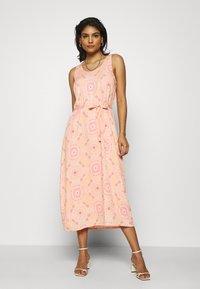 Mos Mosh - MERRIN VISSA DRESS - Maxi dress - pink - 1