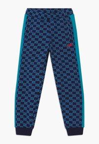 Fila - LORENZO - Trousers - black iris/capri breeze - 0