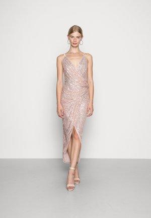 IRIS MAXI - Společenské šaty - rose gold