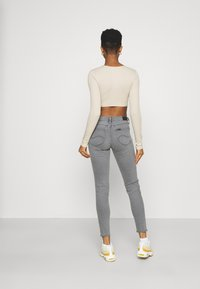 Lee - SCARLETT - Jeans Skinny Fit - grey holly - 2
