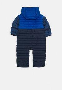 Columbia - POWDER LITEREVERSIBLE BUNTING - Snowsuit - coll navy/bright indigo/night tide - 1