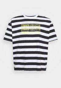 Common Kollectiv - PLUS WILSON STRIPE - T-shirt z nadrukiem - white - 4