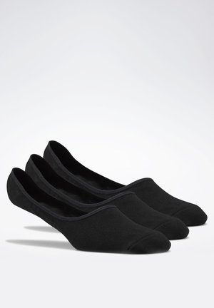 ACTIVE FOUNDATION INVISIBLE SOCKS 3 PAIRS - Socquettes - black