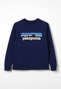 Patagonia - GRAPHIC ORGANIC - Long sleeved top - classic navy - 0