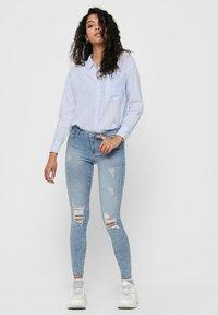 ONLY - Button-down blouse - cloud dancer - 1