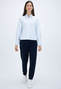 someday. - Button-down blouse - light blue - 1