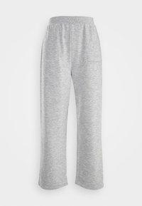 ONLY - ONLDENISE LOUNGE PANT - Tracksuit bottoms - light grey melange - 3
