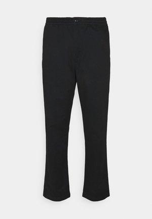 FLAT PANT - Chinos - black